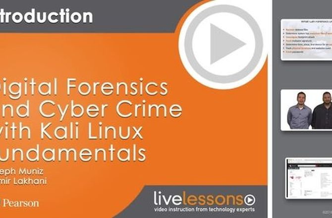 Imagem destacada do curso Curso Digital Forensics and Cyber Crime with Kali Linux Fundamentals
