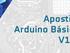Apostila de Arduino Básico