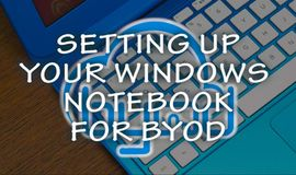 Curso Gratuito Setting up your Windows notebook for BYOD at Tygerberg Campus