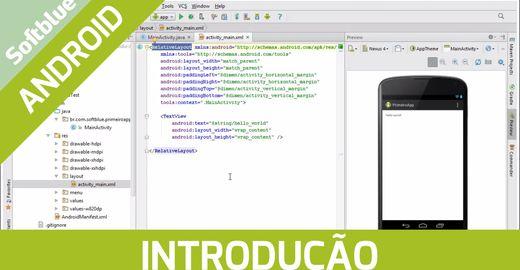 Introdução à criação de aplicativos Android utilizando o Android Studio