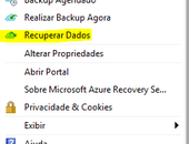 Windows Server 2016 - Azure Backup - Restore