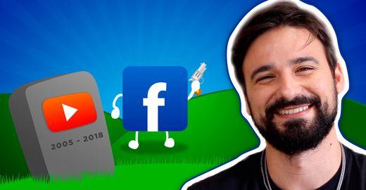 Fim do YouTube em 2018? Facebook entra na briga!
