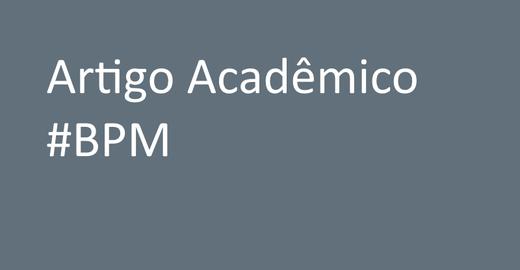 Artigo acadêmico sobre BPM