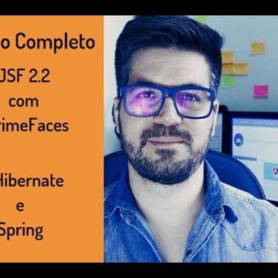 Curso Completo JSF 2.2 com PrimeFaces e Spring