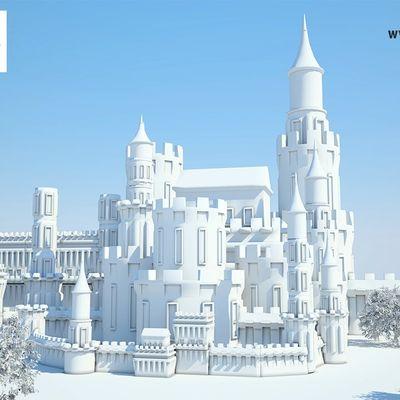 Curso Criando a Cena de um Castelo com 3ds Max e Vray