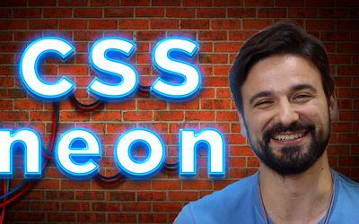 Efeito neon piscando com CSS