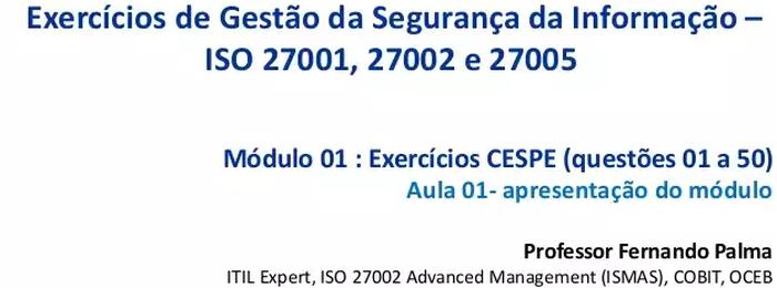 Segurança da Informação para concursos - Portal GSTI c63f036e73
