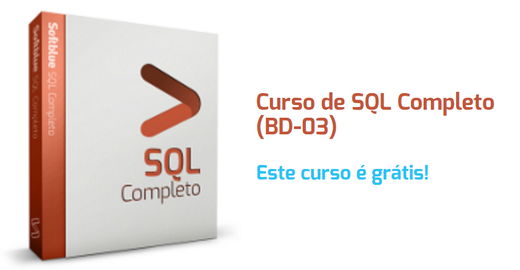 Curso online SQL grátis