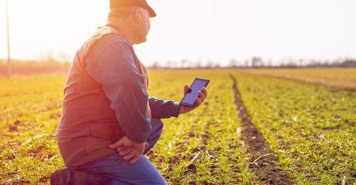 O homem do campo e a tecnologia